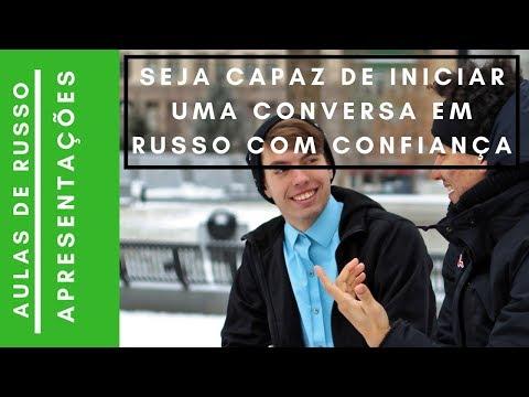 Vídeo Apresentações língua russa