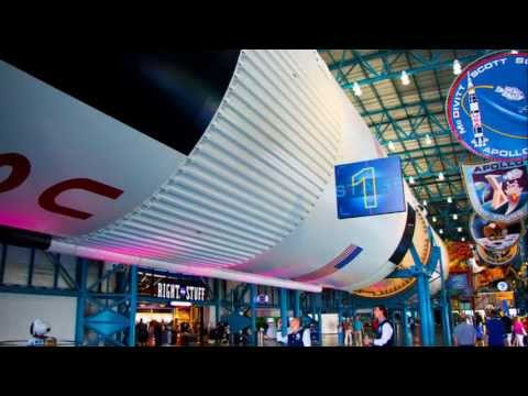 Florida: Cape Canaveral NASA Kennedy Space Center - Orlando Florida HD