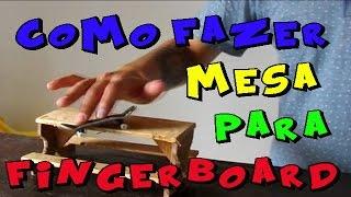 como fazer mesa para  fingerboard - obstaculo #2