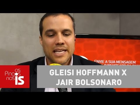 Gleisi Hoffmann X Jair Bolsonaro