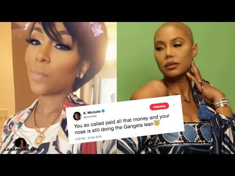 K Michelle CLAPS BACK At Tamar After Her Plastic Surgery Shade On Steve Harvey Talk Show
