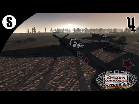 Прохождение Men Of War: Assault Squad 2 | German Battalion | ( Capture The Airfield ) #4