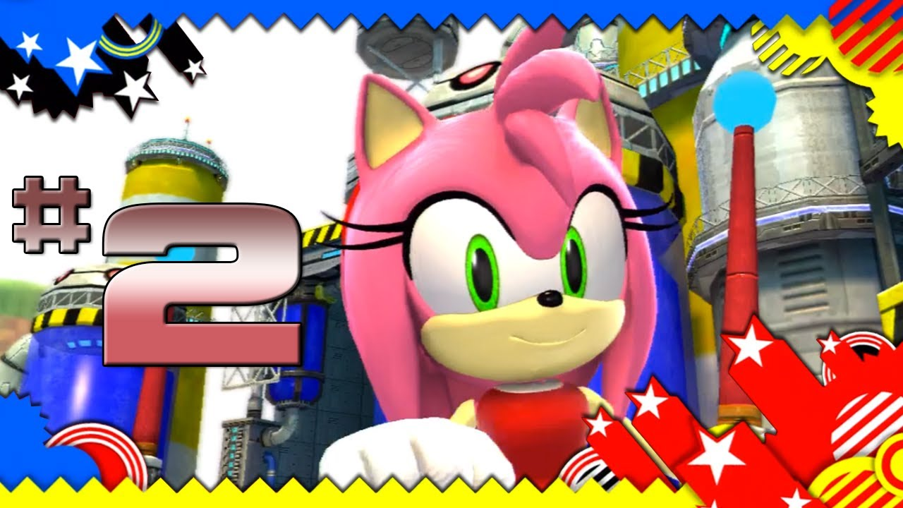 Let's Play Sonic Generations Part 9 - Time Eater - YouTube  |Sonic Generations 2 Player Mode