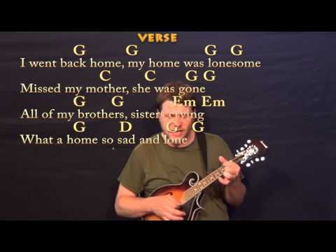 Will the Circle Be Unbroken (GOSPEL) Mandolin Cover Lesson with Chords / Lyrics