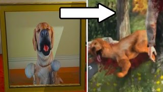 GTA 5 WHAT HAPPENED TO MICHAELS DOG? Creepy Dark Secrets (GTA 5)