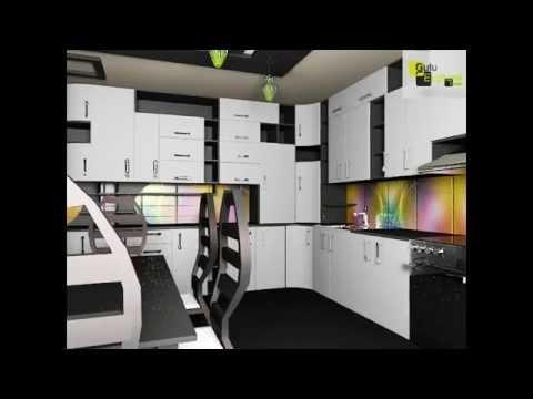 Moderne kjøkken design, kjøkken med moderne møbler   youtube