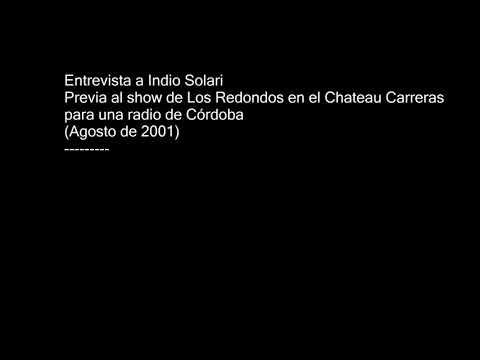 Entrevista a Indio Solari (Cadena 3, Córdoba) agosto de 2001 HD+