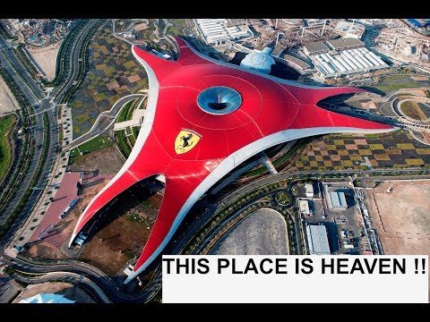 Ferrari World | Fastest Roller Coaster In The World | ABU DHABI | 2017