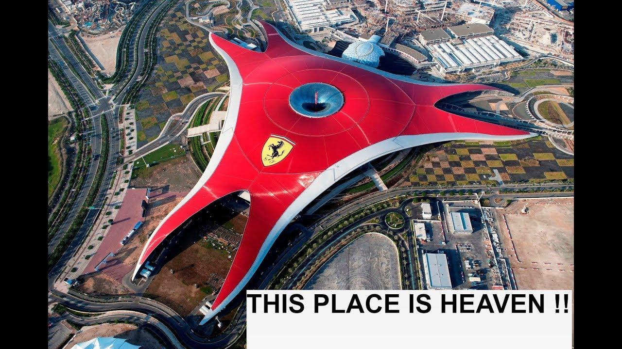 Ferrari World Fastest Roller Coaster In The World A
