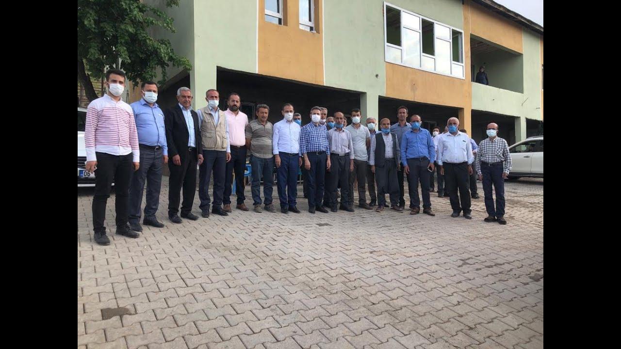 AK Parti Adıyaman Merkez İlçe Teşkilatı'ndan köy ziyaretleri