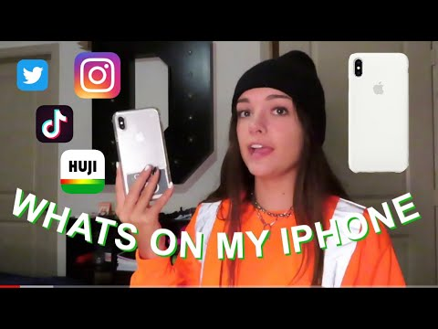 What's On My iPhone XS Max!? *2019*
