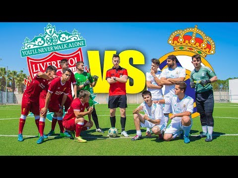 REAL MADRID VS LIVERPOOL con POLÉMICA ¡FINAL de CHAMPIONS! Partido Fútbol