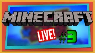 Minecraft Multiplayer Series LIVE - Part 3 (Xbox One)