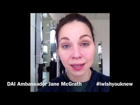 Jane McGrath's iwishyouknew 2016