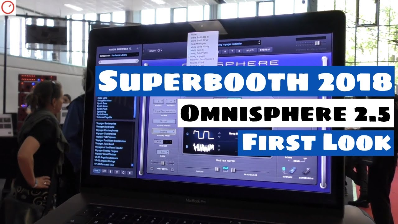 Superbooth 2018: Omnisphere 2 5 Update: Hardware Synthesizer Integration |  SYNTH ANATOMY