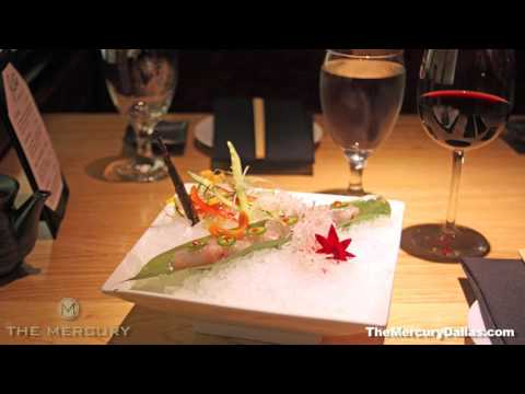 Sushi At The Mercury -- Kampachi Grapefruit