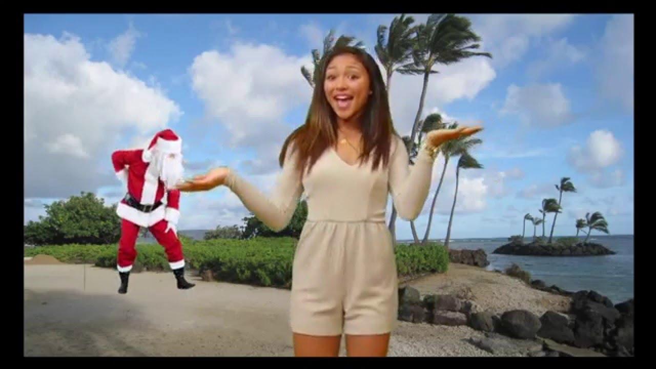 Ciana Pelekai sings Christmas in the Sand for Brown Bags ...