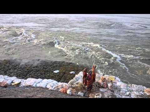 Koshi river damp (Koshi nadi nepal )