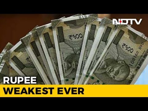 Rupee Collapses To New Record Low