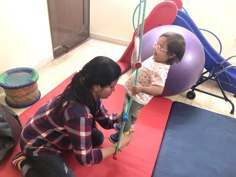 Balance exercises, Core Strengthening | Veda at therapy | Down Syndrome India