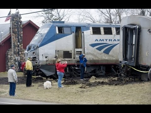 Amtrak Train Crash (Full Video of Aftermath)