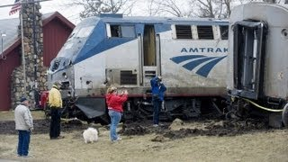 Amtrak Train Crash (Full Video of Aftermath)