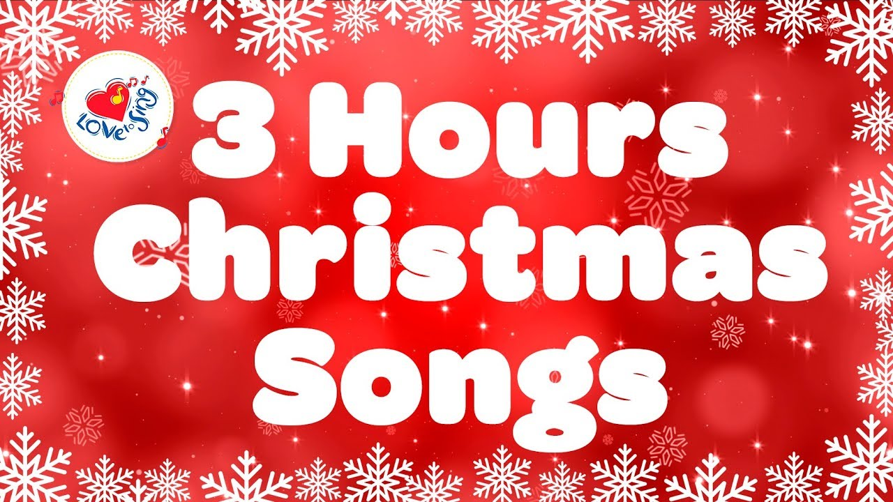 Christmas Non Stop Popular Songs Playlist Over 3 Hours Youtube