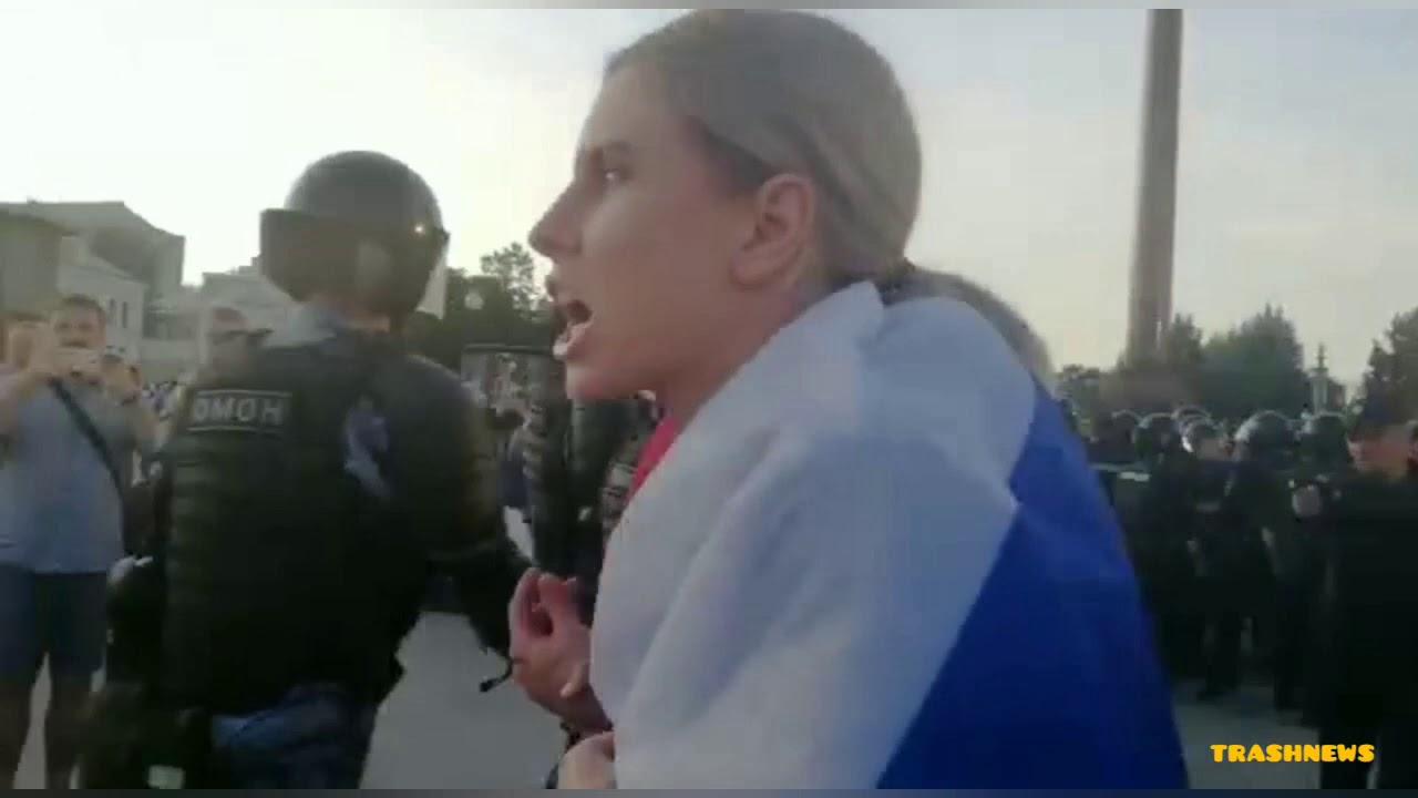 На митинге в Москве 27 июля было задержано 1074 человека. Митинг на Тверской, Трубной