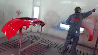 Painting A Car: with standox standoblue