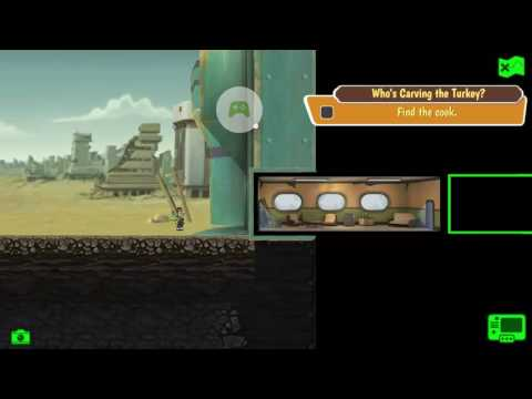 Fallout Shelter Thanksgiving Quest : Who's Carving The Turkey?
