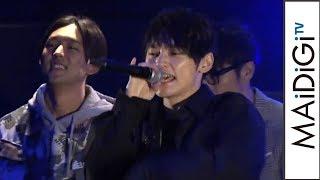 "SKY-HI、KEN THE 390らと""スペシャルサイファー"" 映画「ブラックパンサー」イベント2"