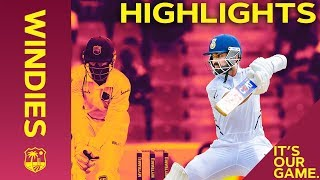 West Indies Battle as Rahane & Kohli Build Lead | Windies vs India 1st Test Day 3 2019 - Highlights