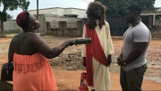 Funny video -Black Jesus in Gh (Quappiah Comedy) Video