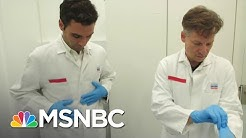 German Laboratory Ramps Up Production Of New COVID-19 Test | Velshi & Ruhle | MSNBC