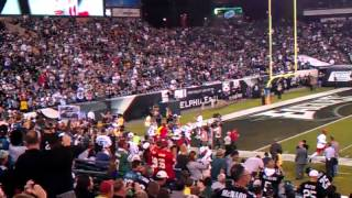 Andy Reid's live return to Philly!