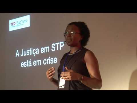 How can Justice be fair to everybody | Nayda d'Almeida | TEDxSãoTomé