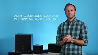 Erfahren Sie, Wie Sie zum einrichten der Wireless-Surround-Sound mit den Definitive Technology-App
