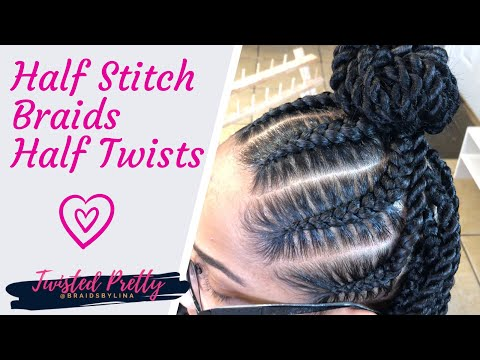 6 PERFECT STITCH BRAIDS & TWISTS - reg speed