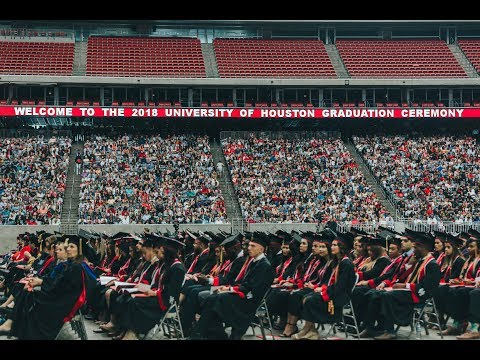 University of Houston Spring 2018 Commencement