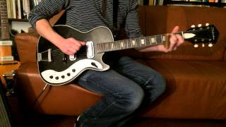 Feelin Bad Blues - Crossroads - Ry Cooder - 50 years old Silvertone 1423
