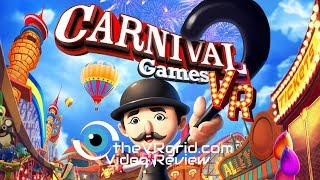 Carnival Games w/ Adventure Alley DLC | PlayStation VR Review and Gameplay