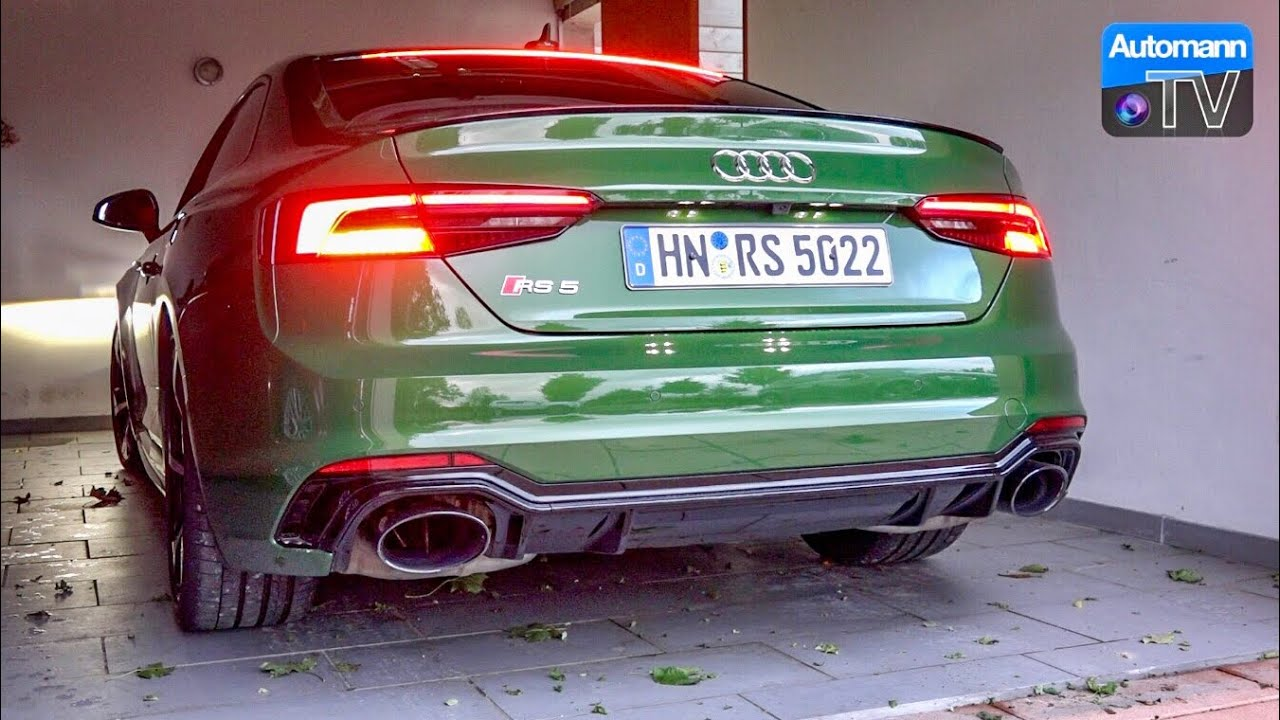 2018 Audi Rs5 450hp Pure Sound 60fps