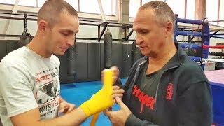 Как намотать боксерские бинты  3 способа