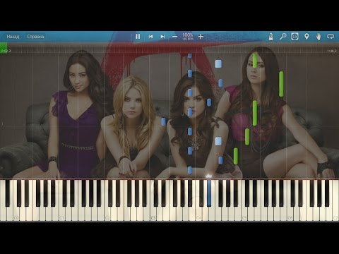 Pretty Little Liars - Secret + Ending Credits. Piano (Synthesia)