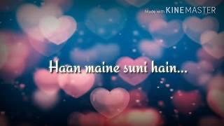 Toota jo kabhi tara... Whatsapp short lyric video 😘
