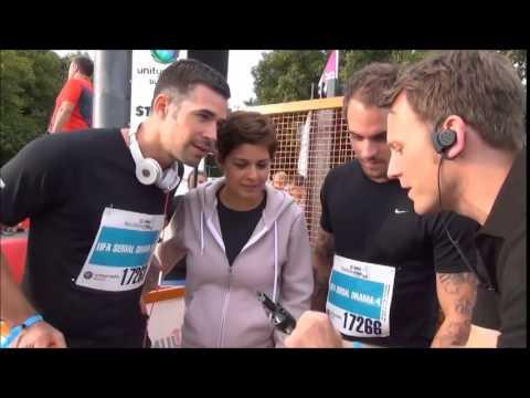22.08.2014 - Jo at HRS business run Köln