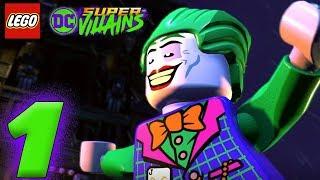 LEGO DC SUPER VILLAINS GAMEPLAY PART 1 DEUTSCH - JOKER & HARLEY QUINN   EgoWhity