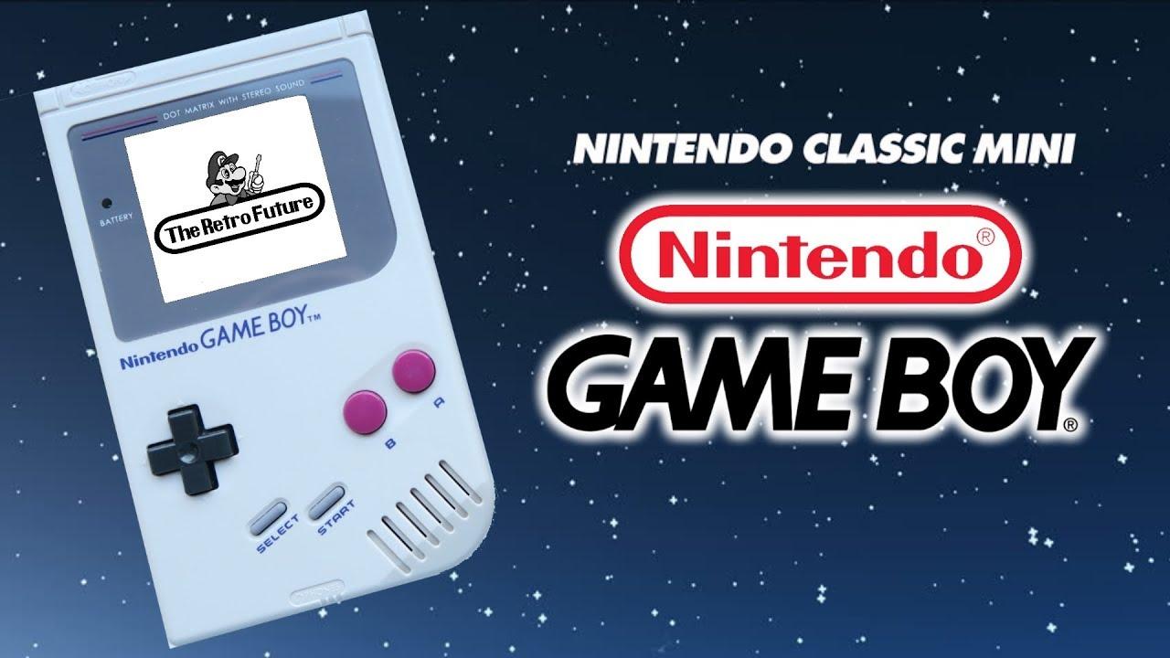Nintendo Game Boy Classic Mini   Size, Games + WHEN!? - YouTube