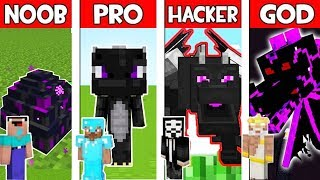 Minecraft - NOOB vs PRO vs HACKER vs GOD : ENDER DRAGON MUTANT in Minecraft ! AVM SHORTS Animation