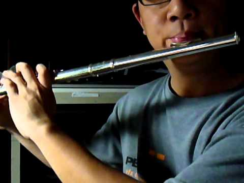 Without his cross azumi 2000 flute youtube for Azumi vs yamaha flute